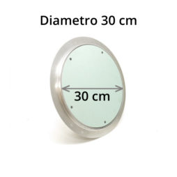 Botola rotonda in cartongesso da 30 cm