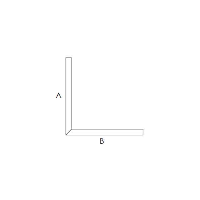 Sagomato in cartongesso con angolo a 90°